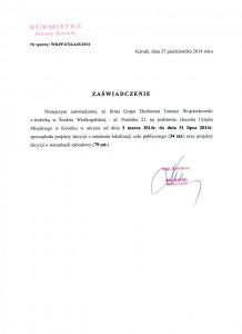 Burmistrz Gminy Kórnik